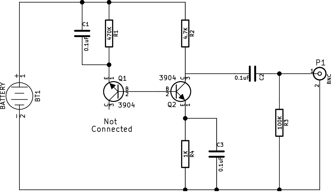 Knight Rf Generator Schematics : Kb ojh projects rf noise generator