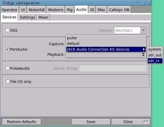 kb8ojh net - SDR - Digital Modes with Linux SDR